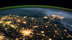 Earth -Time Lapse View from Space/Fly Over -Nasa, ISS (vid ...