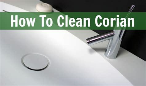 clean corian home ec