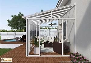 veranda sur terrasse ma veranda With toit en verre maison 4 veranda toit terrasse ma veranda