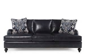 bernhardt beckford leather sofa mathis brothers furniture