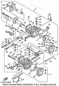 Yamaha Motorcycle 2000 Oem Parts Diagram For Carburetor