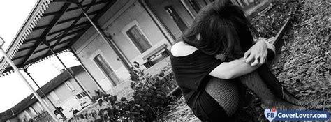 sad girl emo goth facebook cover maker fbcoverlovercom