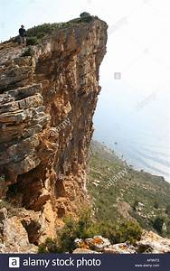 steep cliff overhang Cap Canaille Cassis provence cote d ...