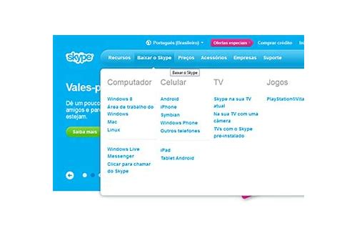 skype android baixar