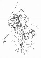 Week Goblin Witchsona Spelunker Female sketch template