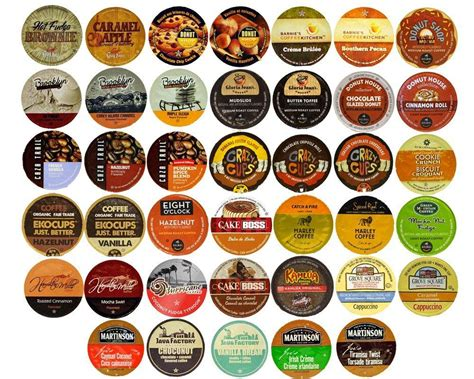 Flavored Coffee Variety Sampler Pack for Keurig K Cup Brewers, 40 Count: Amazon.com: Grocery