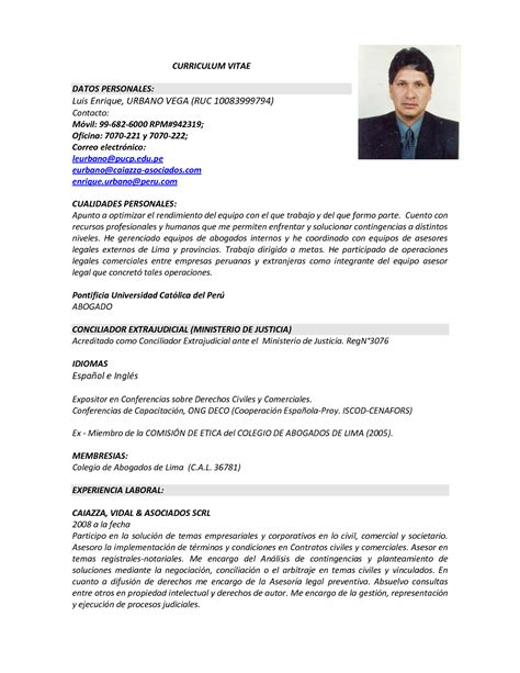 De Cv by Taringa De Portugues Modelo Curriculum Vitae En Espanol Y