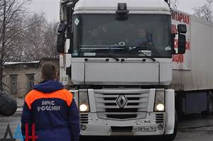 Russian humanitarian aid convoy delivers 200 tons of baby ...
