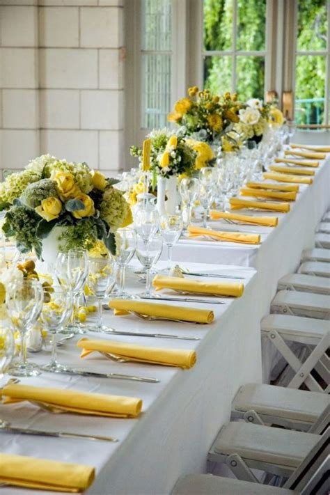 table decoration in green and yellow colors for a festive mood interior design ideas avso org