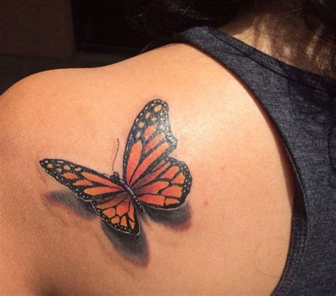 incredible  butterfly tattoos butterflies
