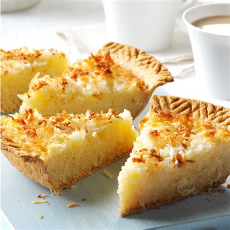coconut macaroon pie recipe taste  home