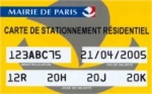 Carte Stationnement Paris : une carte de stationnement r sidentiel disponible paris ~ Maxctalentgroup.com Avis de Voitures