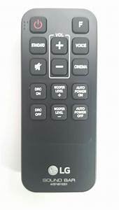 New Genuine Original Lg Sound Bar Remote Control