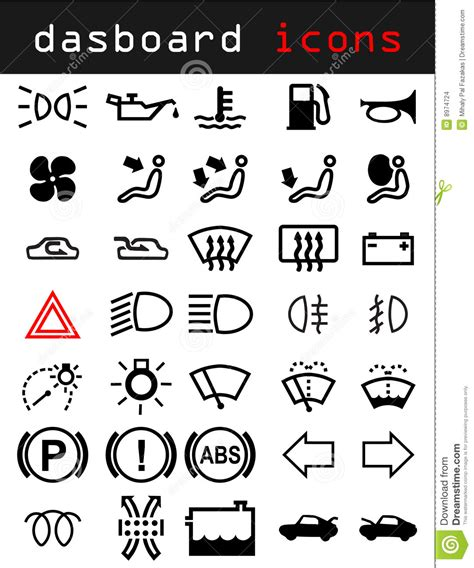dashboard icons stock images image