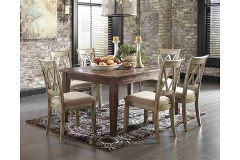 Dining Room Sets : Mestler Formal Dining Room Set