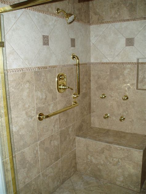 Handicap Shower   Traditional   Bathroom   Nashville   by