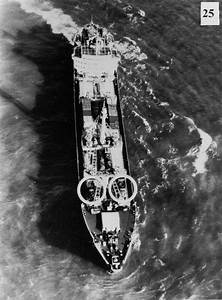 Soviet ship Poltava carrying IRBMs (mounted on the circled ...