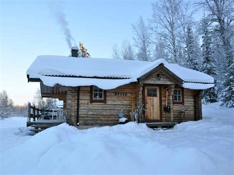 log cabin sweden winter log cabin escape in v 228 rmland nature travels