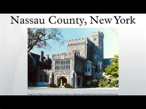 nassau county  york youtube