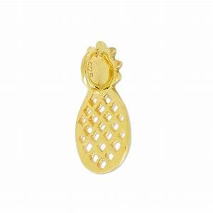Ananas Deco Argent : breloque ananas 18 mm en argent 925 dor x1 perles co ~ Teatrodelosmanantiales.com Idées de Décoration