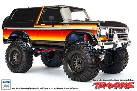 red hot traxxas trx  news bronco  kit rc car action