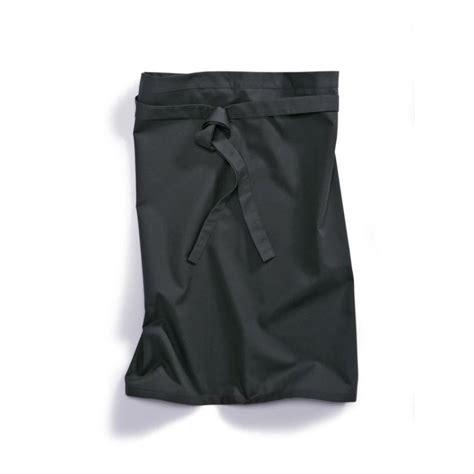 vetement cuisine professionnel tablier cuisine 1780 400 32 bp noir vêtement professionnel