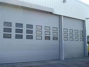 portes de garage industrielles safir With porte de garage sectionnelle industrielle