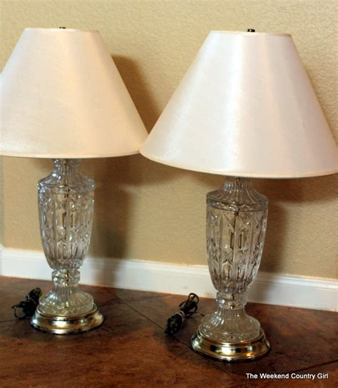 Target Floor Lamp Brass by Lamp Makeover The Weekend Country