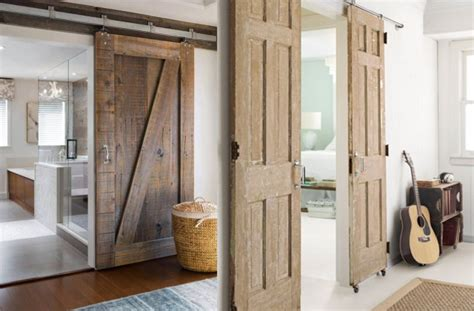 15 inspirations pour recycler une porte ancienne inspiration