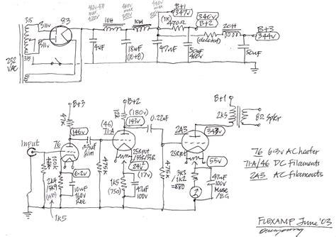 Schematic Diagram Gemini Amplifier