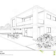 Moderne Häuser Zeichnen by Moderne H 228 User Zeichnen