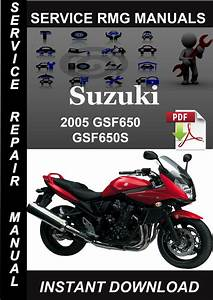 2005 Suzuki Gsf650 Gsf650s Service Repair Manual Download