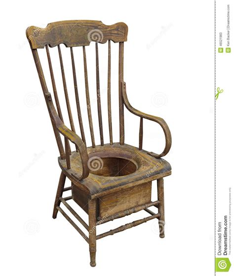 Potty Chair For Adults In Delhi by Wooden Potty Chair Isolated Stock Photo Image