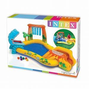 Jeux Gonflable Pour Piscine : aire de jeu gonflable dinosaures intex piscine pour ~ Dailycaller-alerts.com Idées de Décoration
