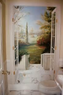 poster mural trompe l oeil fenetre trompe l oeil wine cellar the mural works