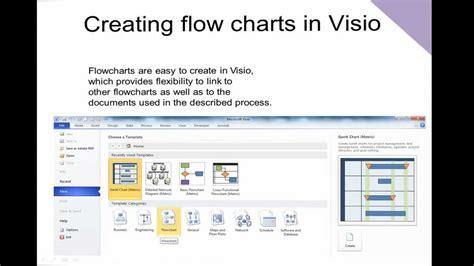 visio  creating flowcharts youtube
