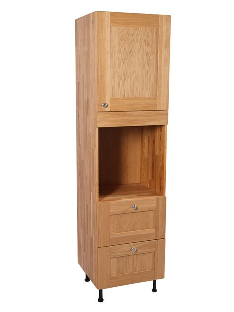 kitchen cabinets with drawers only solid oak kitchen full height single oven cabinet