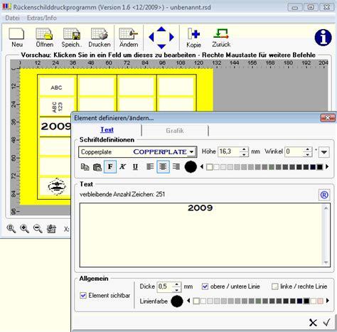 leitz ordner ruecken beschriften software kostenlos