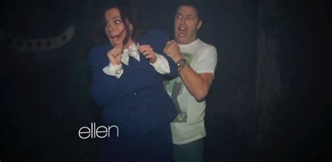 Ellen Degeneres Amy Halloween Horror Nights by Why Fear Makes Us Scream Our Pants And Enjoy It Abc