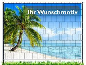 Sichtschutzstreifen Mit Motiv : sichtschutz mit eigenem motiv zum einflechten ~ A.2002-acura-tl-radio.info Haus und Dekorationen