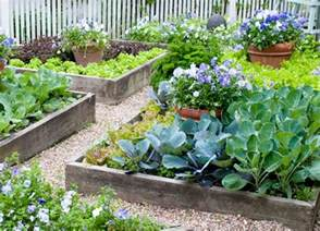 Small Raised Bed Vegetable Garden