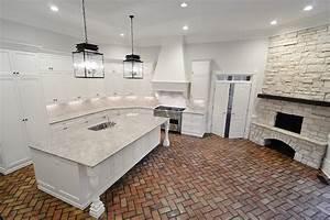 Giallo Ornamental Granite - Transitional - Kitchen - CR
