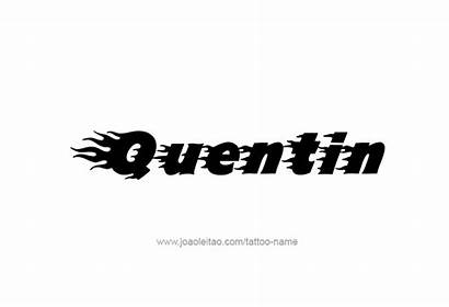 Quentin Tattoo Tattoos Font Newdesignfile Caps Via