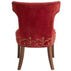 hourglass dining chair red velvet i want this for the