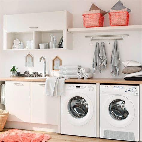 lave linge dans cuisine astuces pour aménager une buanderie dans la cuisine but