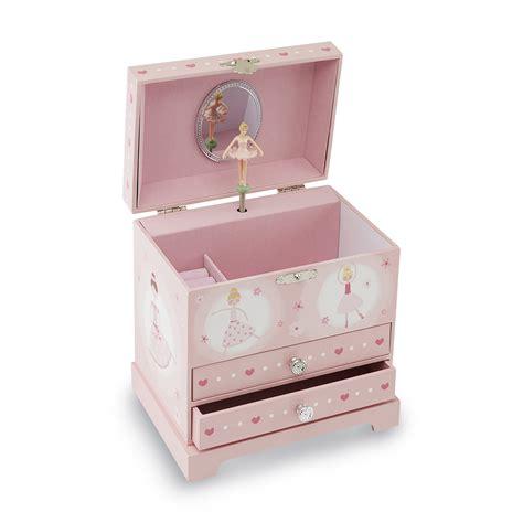 girls ballerina musical jewelry box