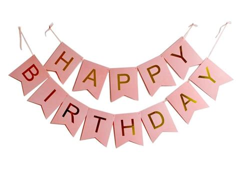 pink and black happy birthday banner 28 images deluxe minnie mouse happy birthday banner