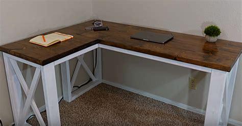 diy farmhouse computer desk