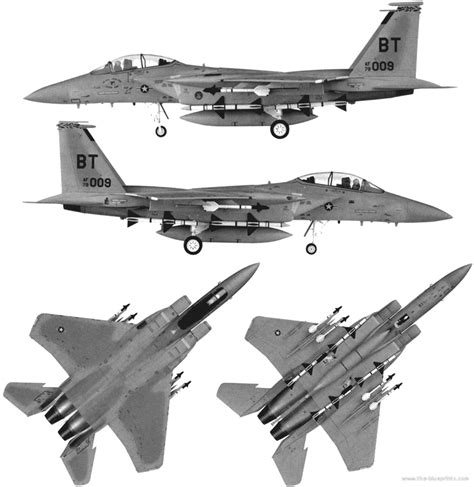 Boeing-mcdonnell Douglas F-15 Eagle (cutaway) (spaccato
