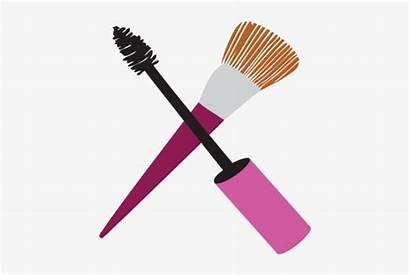 Makeup Brush Clipart Transparent Background Icon Clip